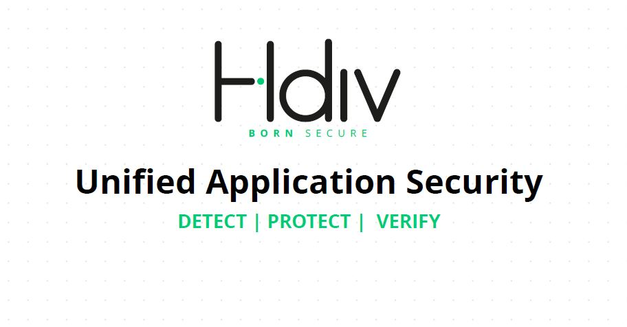 HDIV - Unified Application Security